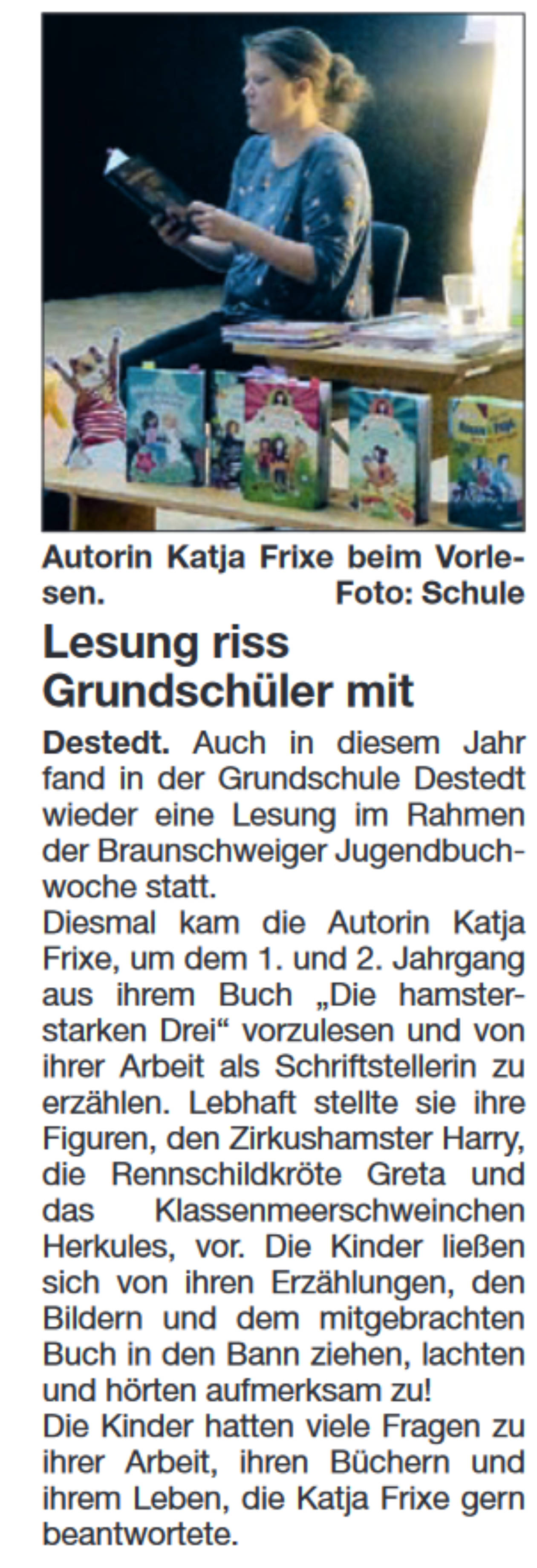 Autorenlesung November
