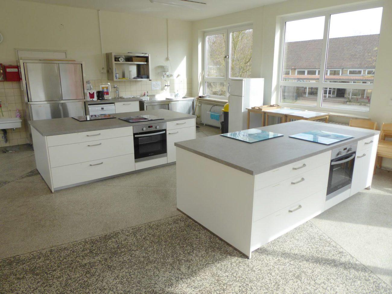 Neue Schülerküche
